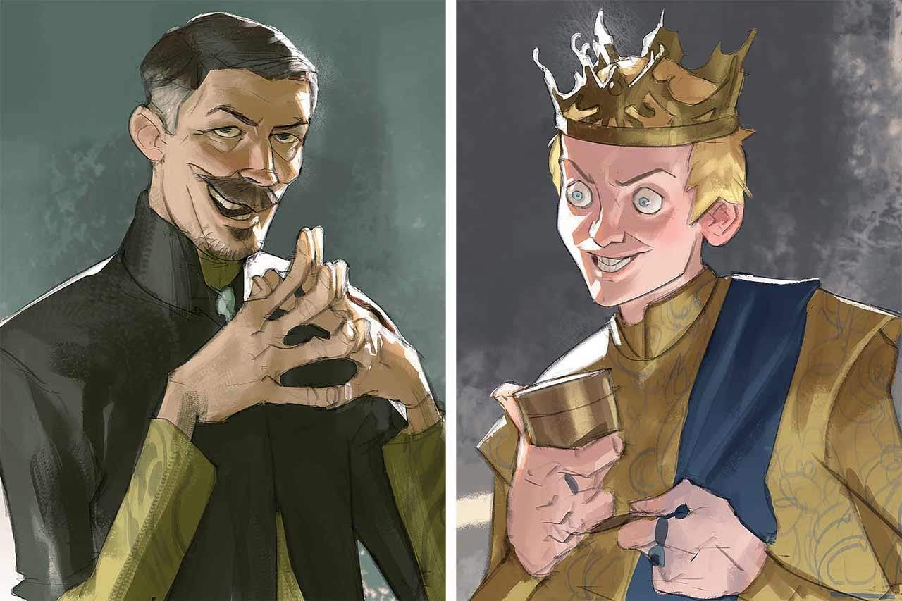 Artist Creates Unique Character Arts From Game Of Thrones