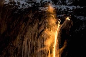 14 Photos That Prove Horsetail Fall Is Actually Made Of Fire
