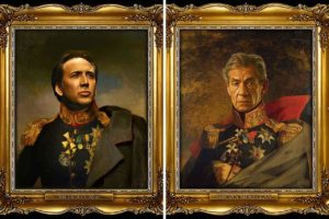 Read more about the article Artist Turns Famous Actors Into Russian Generals