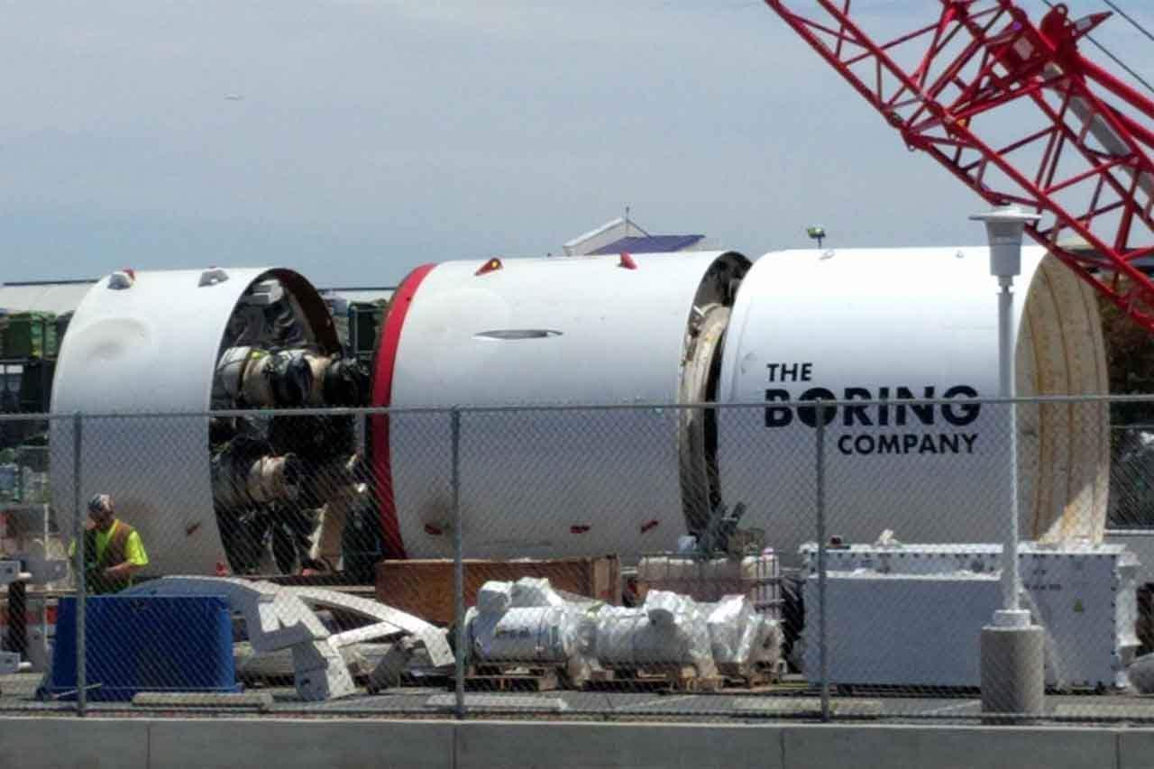 Elon Musk Is Excavating Under LA