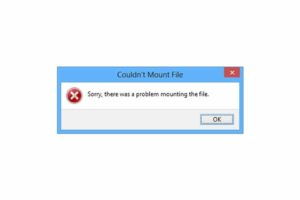 "How To Fix ""Couldn't Mount File"" Error"