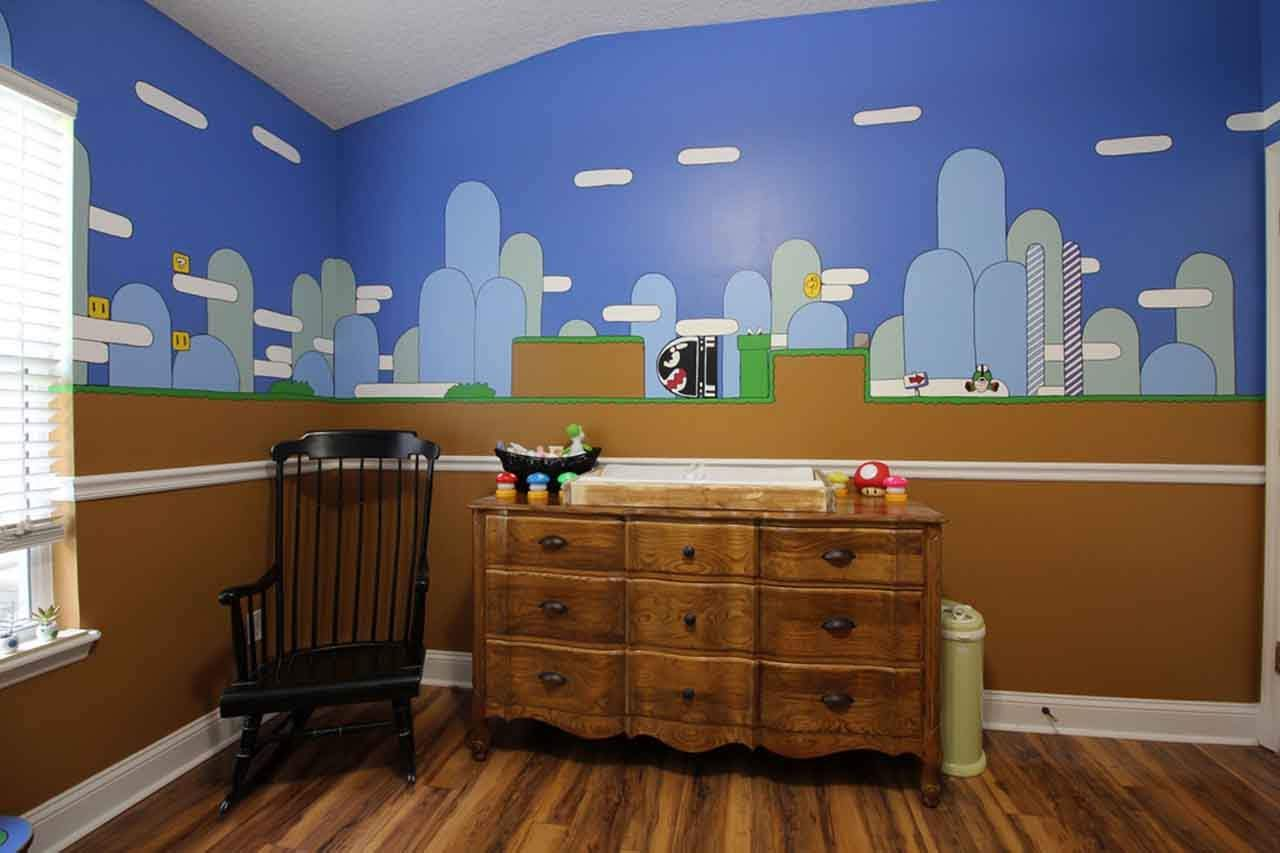 How To Make Super Mario Brothers Nursery