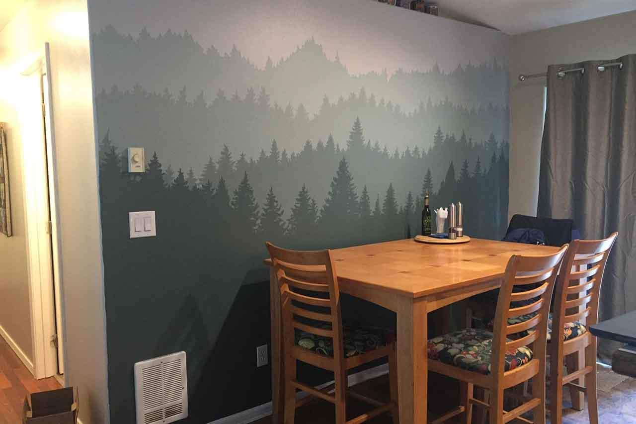 How To Turn Your Dull Kitchen Into A Nature Scene
