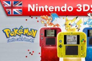 Pokémon Red, Blue And Yellow Re-Releases Arrive eShop On February 27