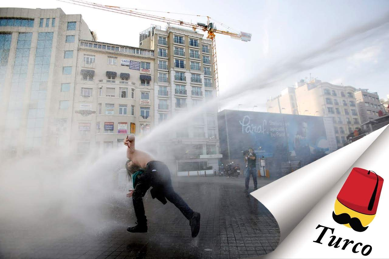 You are currently viewing Watch Turkish People Getting Hit By Water Cannons